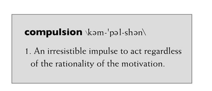 Compulsiondefinition